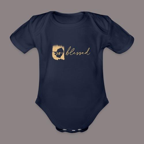 so blessed - Baby Bio-Kurzarm-Body