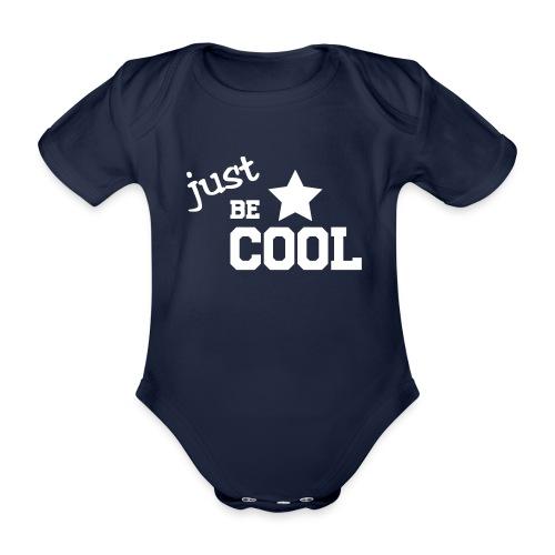 shirtsbydep just be cool - Baby bio-rompertje met korte mouwen