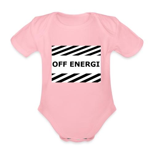 OFF ENERGI officiel merch - Ekologisk kortärmad babybody