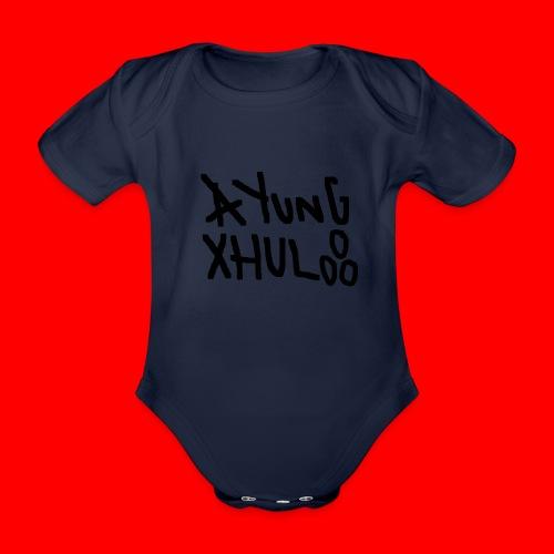 AYungXhulooo - Original - SloppyTripleO - Organic Short-sleeved Baby Bodysuit