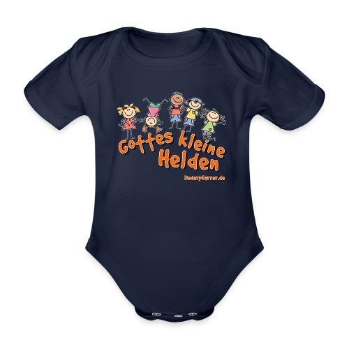 Gottes kleine Helden - Baby Bio-Kurzarm-Body