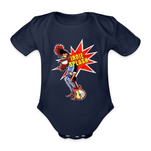 Indie Splash - Baby Bio-Kurzarm-Body
