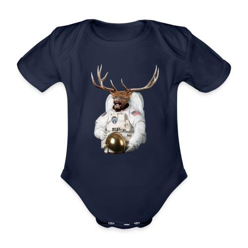 NASA - Body bébé bio manches courtes