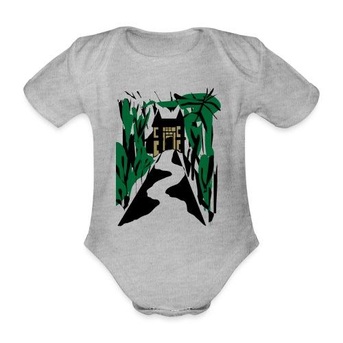 HALLOWEEN SPOOKY HAUNTED MANSION 2017 - Baby Bio-Kurzarm-Body