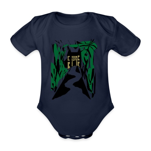 HALLOWEEN SPOOKY HAUNTED MANSION 2017 - Baby Bio-Kurzarm-Body