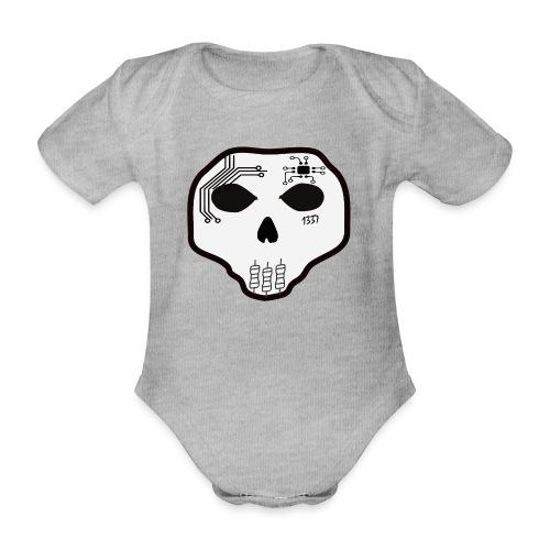 Cyber Skull - Body Bébé bio manches courtes