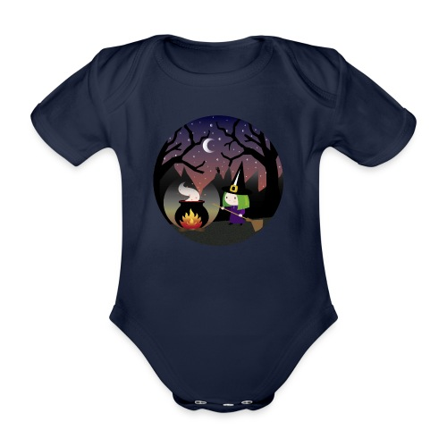 meiga - Body orgánico de maga corta para bebé