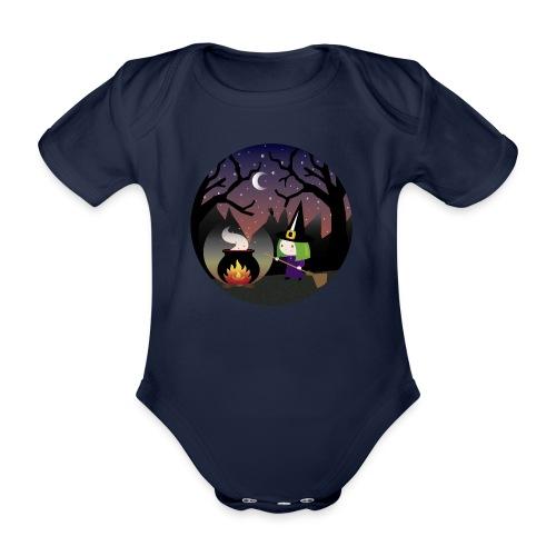 meiga - Body orgánico de manga corta para bebé