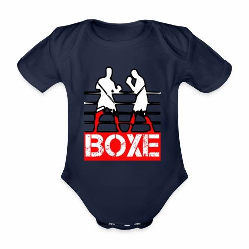 BOXE - Body ecologico per neonato a manica corta