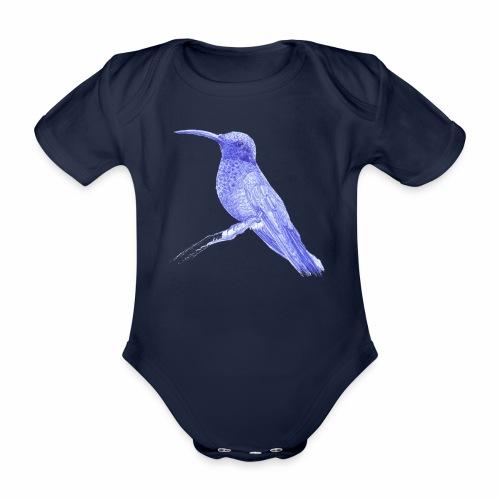 Colibri au stylo-bille - Body Bébé bio manches courtes