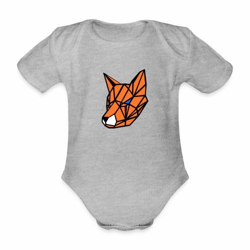 renard geometrique - Body Bébé bio manches courtes