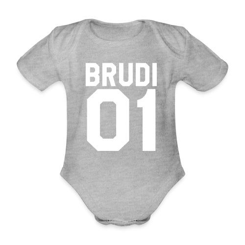 Brudi 01 Geschwister Beste Freunde Partnerlook - Baby Bio-Kurzarm-Body