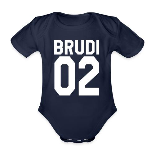 Brudi 02 Geschwister Beste Freunde Partnerlook - Baby Bio-Kurzarm-Body
