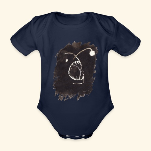 I djupet - Ekologisk kortärmad babybody