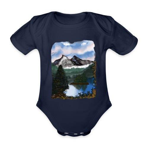 Mystic Mountain - Baby Bio-Kurzarm-Body
