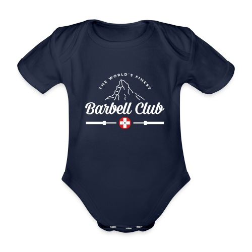 The world's finest Barbell Club - Baby Bio-Kurzarm-Body