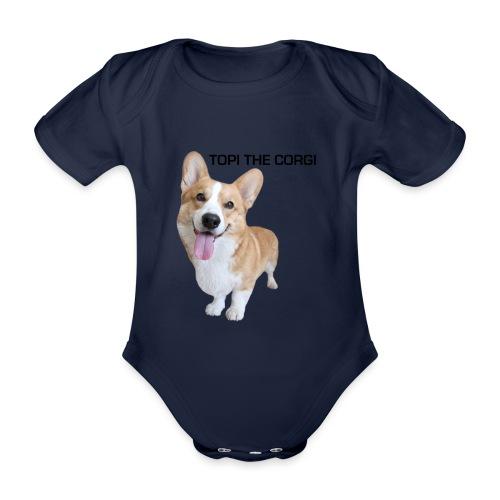 Silly Topi - Organic Short-sleeved Baby Bodysuit