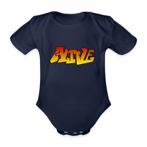ALIVE CGI - Organic Short-sleeved Baby Bodysuit