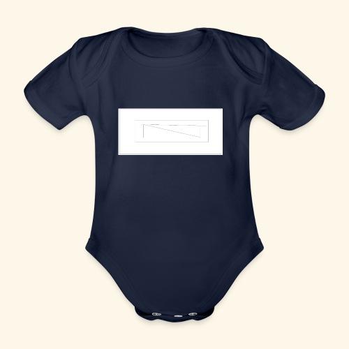 melles logga Design x2 - Ekologisk kortärmad babybody