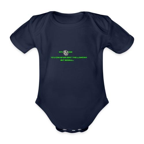 SAVAGE - Organic Short-sleeved Baby Bodysuit