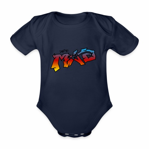 Life Is MAD CGI Makeover TM collaboration - Organic Short-sleeved Baby Bodysuit