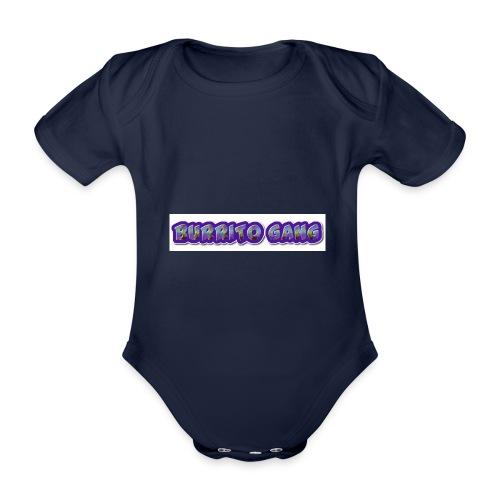 BURRITO GANG MALLISO - Vauvan lyhythihainen luomu-body