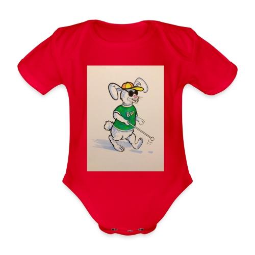 D8E258B9 C408 4AB5 BC9C AD4A1FA0B347 - Organic Short-sleeved Baby Bodysuit