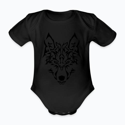 Tribal Wolf - Body Bébé bio manches courtes