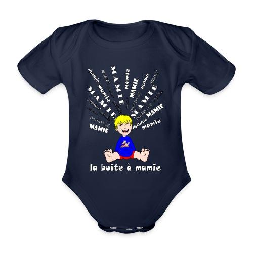 t shirt mamie body boite à mamie cool qui déchire - Body Bébé bio manches courtes
