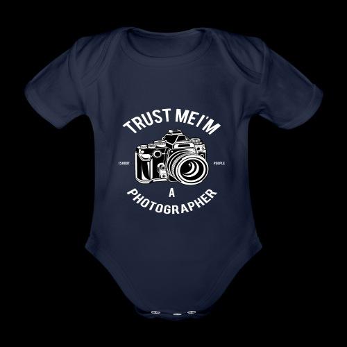 Trust me - I'm a Photographer - Baby Bio-Kurzarm-Body