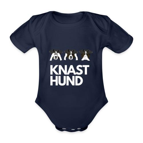Knast Hund - Jack Russel - Baby Bio-Kurzarm-Body