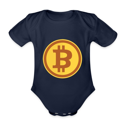 Bitcoin - Baby Bio-Kurzarm-Body