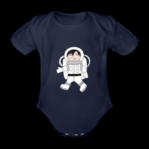 Astronaut - Baby Bio-Kurzarm-Body