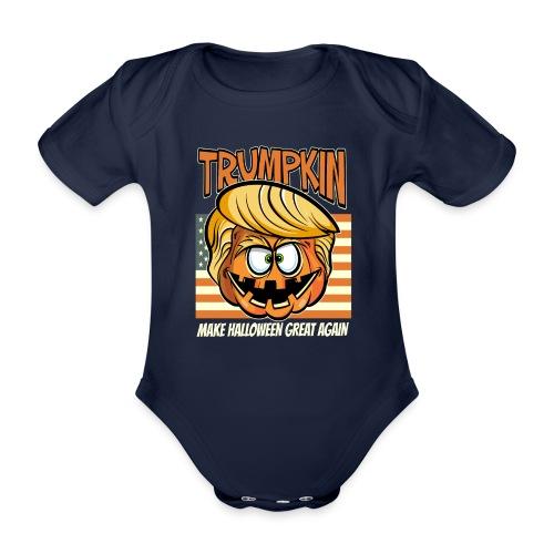 Trumpkin Donald Trump Halloween - Baby Bio-Kurzarm-Body