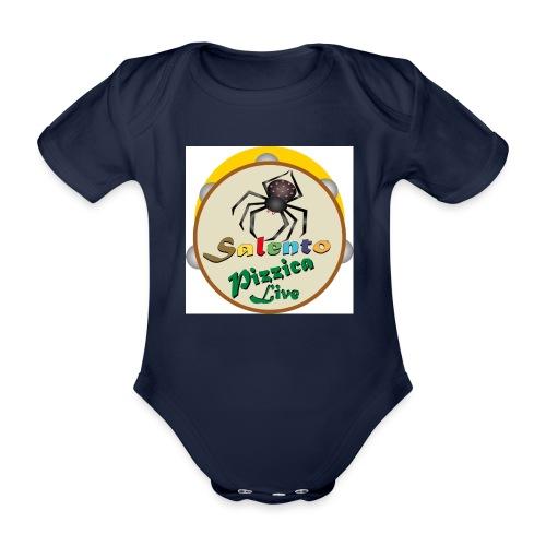 Salento Pizzica Live sf B - Body ecologico per neonato a manica corta
