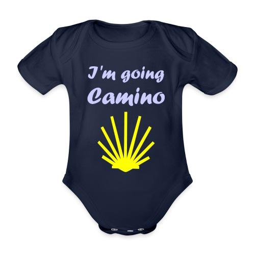 Going Camino - Kortærmet babybody, økologisk bomuld
