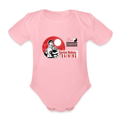 Barefoot Forward Group - Barefoot Medicine - Organic Short-sleeved Baby Bodysuit