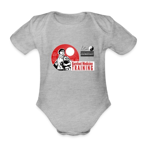 Barefoot Forward Group - Barefoot Medicine - Organic Short-sleeved Baby Bodysuit