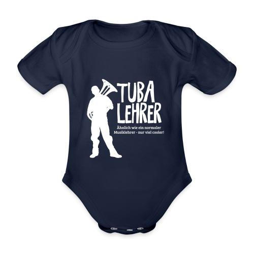 Tuba Lehrer | Tubist - Baby Bio-Kurzarm-Body
