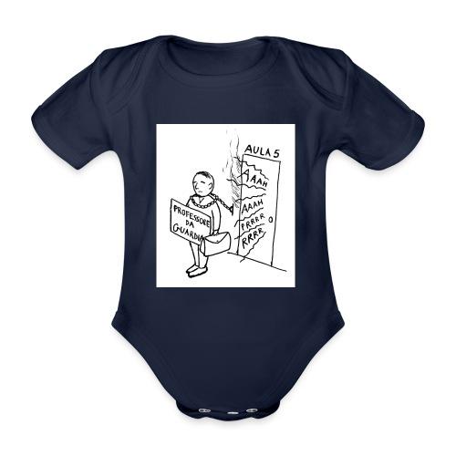 prof da guardia - Body ecologico per neonato a manica corta