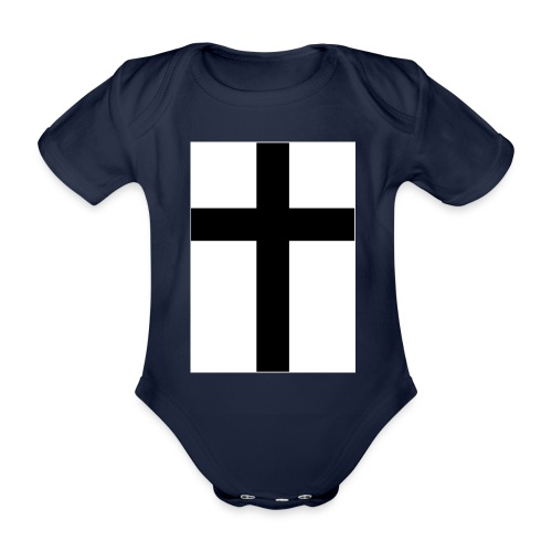 Cross - Ekologisk kortärmad babybody