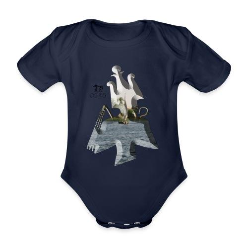 Altägyptischer Gott OSIRIS - Baby Bio-Kurzarm-Body