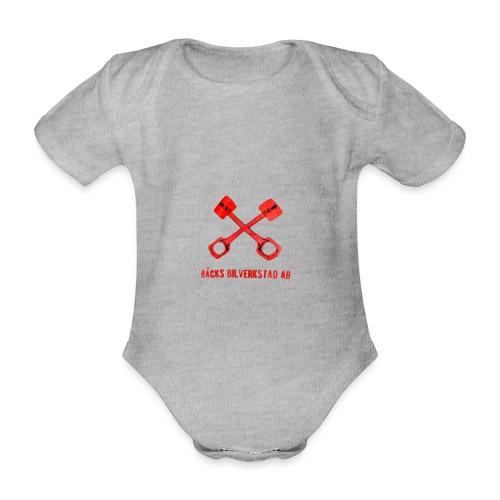 Bäcks bilverkstad - Ekologisk kortärmad babybody
