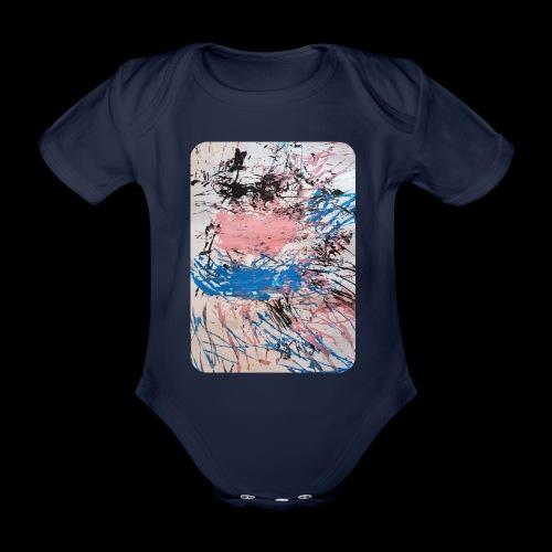 Emelie Kunstwerk V. - Baby Bio-Kurzarm-Body