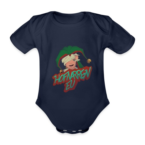 hofnarren_eu Twitch - Kortærmet babybody, økologisk bomuld