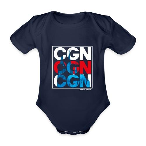 CGN x3 - Baby Bio-Kurzarm-Body