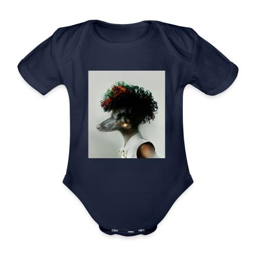 pini punk - Ekologiczne body niemowlęce z krótkim rękawem