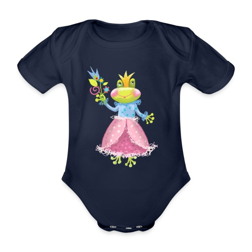 Prinzessin Frosch - Baby Bio-Kurzarm-Body