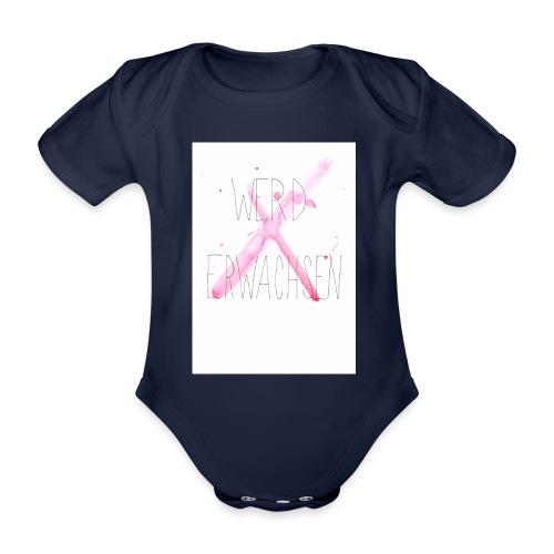 Werd erwachsen - Baby Bio-Kurzarm-Body