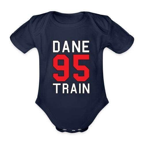Dane Train #95 - Baby Bio-Kurzarm-Body